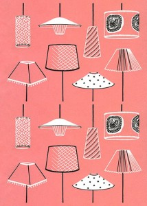 Pink Lampshades
