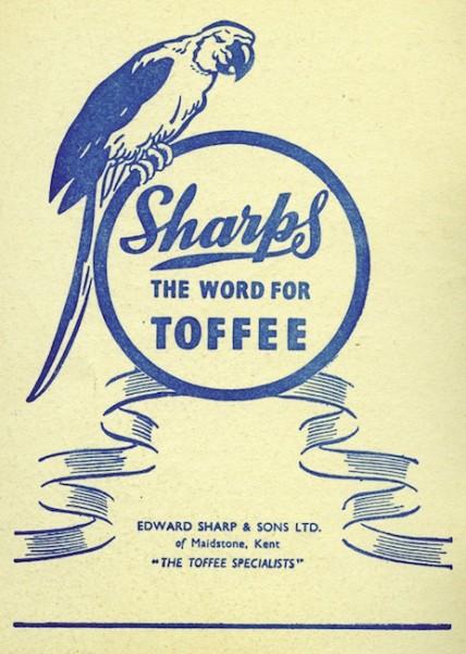 Sharps Toffee